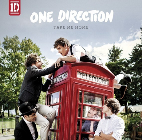 "Capa de ""Take Me Home"", segundo álbum de estúdio da banda One Direction."